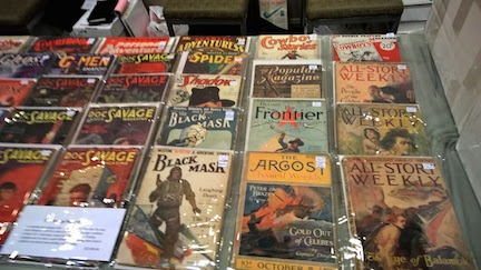 Just a few of the pulps for sale.