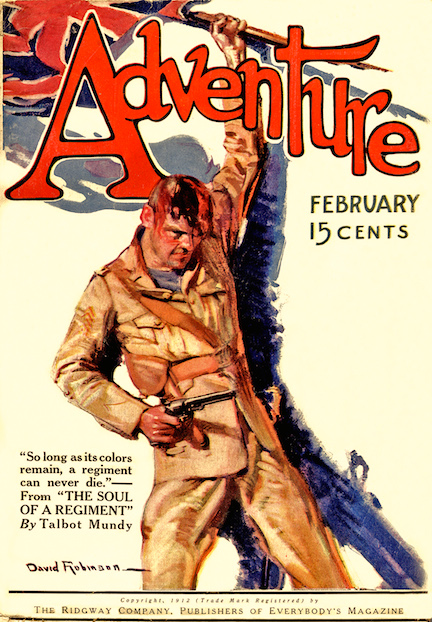 Mundy's first major story for the pulps.