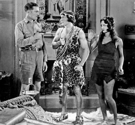 A scene from TARZAN THE TIGER (1929).