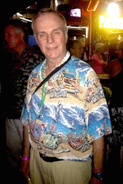 Steve Kennedy as he looked a few years ago.